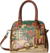 Anuschka 606 Zip Around Convertible Satchel Handbags