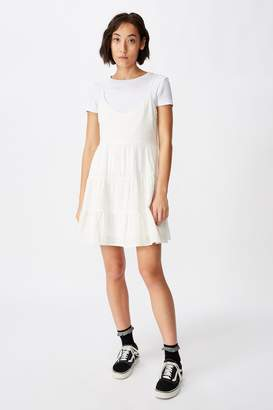 Factorie Textured Tiered Dress