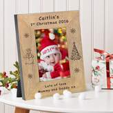 BabyFish Baby's 1st Christmas Photo Frame