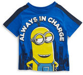 Nannette Boys 2-7 Always in Charge Cotton Tee