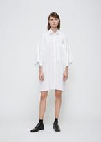 Jil Sander White Stripe Danielle Shirt Dress