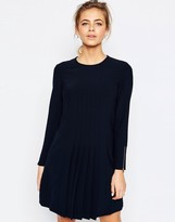 Ted Baker Front Detail Pleat Dress