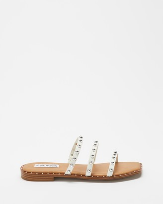 Steve Madden Women's White Strappy sandals - Tayra - Size 7 at The Iconic