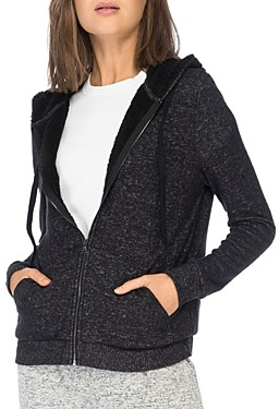 Baobab Collection Remington Sherpa-Lined Zip Hoodie