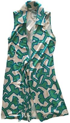 Diane von Furstenberg Green Viscose Dresses