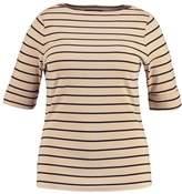 Lauren Ralph Lauren Woman JUDY Print Tshirt pale wheat/polo
