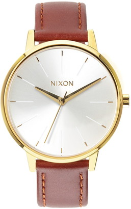 Nixon Women's The Kensington Leather Strap Watch, 37mm