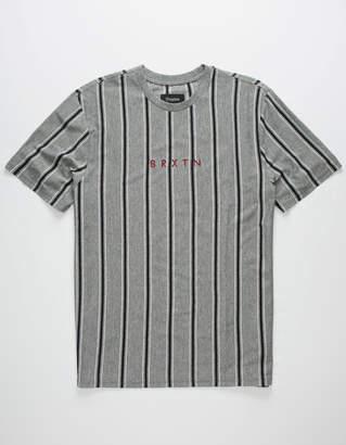 Brixton Hilt II Heather Black Mens T-Shirt