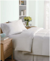 Charter Club CLOSEOUT! Level 2 Damask Stripe King Down Comforter