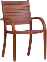 International Home Miami Set Of 4 Amazonia Eucalyptus Patio Armchairs