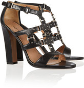 Alaia Studded multi-strap leather sandals