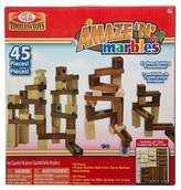 Household Essentials Ideal Amaze 'N' Marbles Classic Wood 45-Piece Construction Set