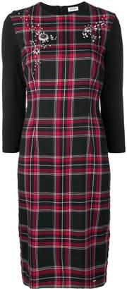 Liu Jo three-quarter sleeved dress