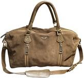 Zadig & Voltaire Sunny Camel Suede Handbags