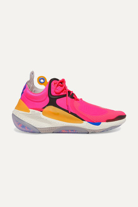 Nike Joyride Cc3 Setter Mesh, Rubber And Leather Sneakers - Pink