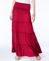 INC International Concepts Tiered Convertible Maxi Skirt, Only at Macy's