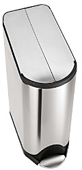 Simplehuman 45-Liter Butterfly Step Garbage Can