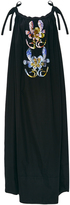 Cynthia Rowley Embellished Cotton Sateen Off The Shoulder Dress