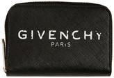 Givenchy Black Mini Paris Zipped Wallet