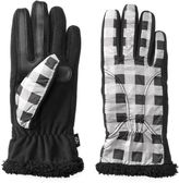 Isotoner Women's Water Repellent Chenille Tech Gloves