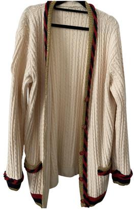 Gucci Beige Cashmere Knitwear