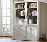 Pottery Barn Logan Bookcase with Doors