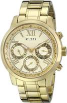 GUESS GUESS? Women's U0330L1 -Tone Stainless Steel Multifunction Watch