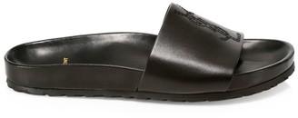 Saint Laurent Jimmy Leather Slides