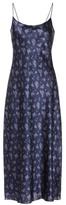 Vince Printed silk-satin slip dress