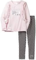 Juicy Couture Choose Juicy Terry Tunic & Legging Set (Big Girls)