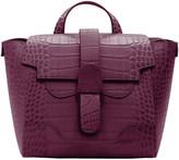 Senreve Mock-Croc Convertible Backpack Satchel Bag