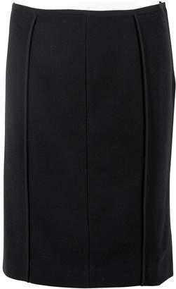 Narciso Rodriguez Black Wool Skirts