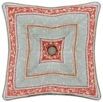 "J Queen New York Jqueen Estonia 18"" Square Decorative Throw Pillow Bedding"