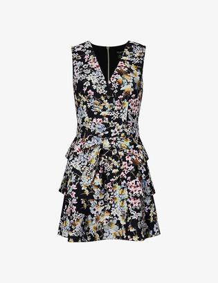 Ted Baker Jasmine floral-print crepe mini dress