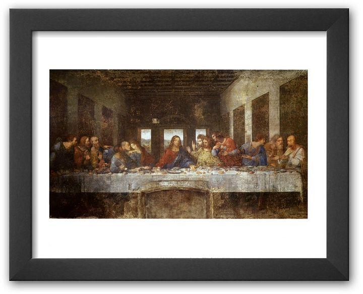 "Art.com Last Supper"" Framed Art Print by Leonardo da Vinci"