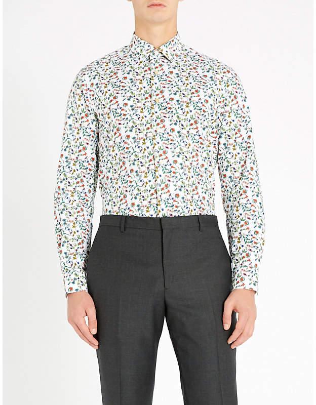 1858cab5 Paul Smith White Men's Longsleeve Shirts - ShopStyle