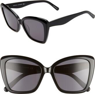 Rebecca Minkoff 55mm Cat Eye Sunglasses