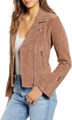 Blank NYC BLANKNYC Next Level Suede Moto Jacket