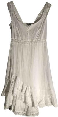 Charo Ruiz Ibiza White Cotton Dresses