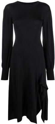 Temperley London Ingrid knit ruffle dress