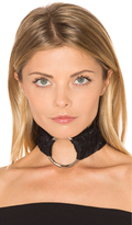 BreeLayne x REVOLVE Lace Ivy with Silver Ring Choker