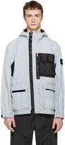 Stone Island Silver Reflective Jacket