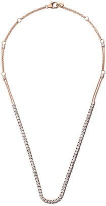 Riviera 18kt rose gold diamond necklace