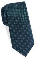 Saint Laurent Basketweave Silk Tie