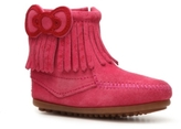 Minnetonka Hello Kitty Fringe Girls Toddler & Youth Boot