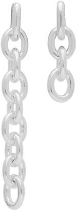 Numbering Silver 841 Earrings