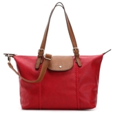 Kelly & Katie Stitched Flap Tote
