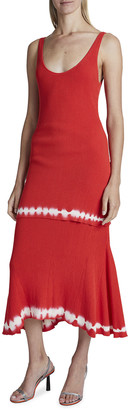 Altuzarra Shinob Scoop-Neck Dress