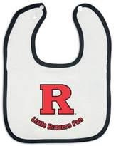 Bed Bath & Beyond Little Rutgers Fan Baby Bib in White/Black