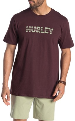 Hurley Strikeout Short Sleeve Crew Neck T-Shirt